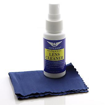 Vision Guard Anti-Fog & statische Lens Cleaner + Tuch