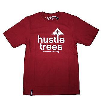 Lrg RC Hustle Trees T-shirt Red White