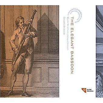 Telemann / Verschuren, Wouter - Telemann: Elegant Bassoon [CD] USA import