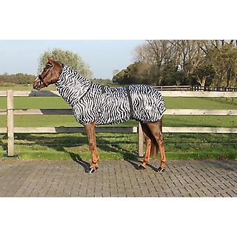 QHP Eczema Blanket Zebra (Horses , Horse riding equipment , Bed covers , Others)