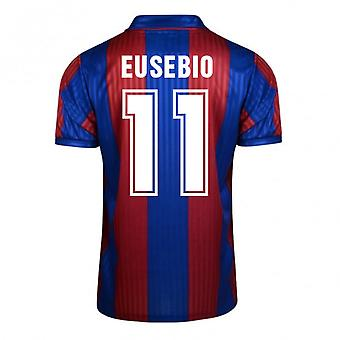 Score Draw Barcelona 1992 Home Shirt (Eusebio 11)