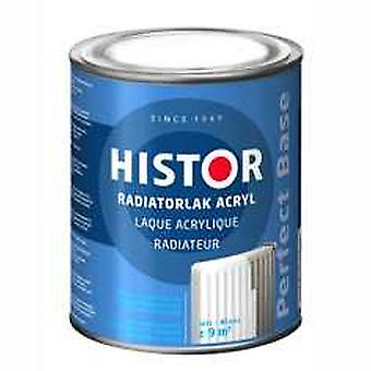Histor Perfect Base radiatorlak acryl wit 7000 250 ml