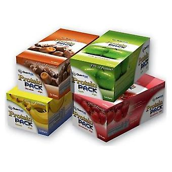 Quamtrax Nutrition Protein Pack Chocolate (Sport , Food , Sticks)