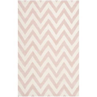 Stella Pink Chevron uld tæppe - Safavieh