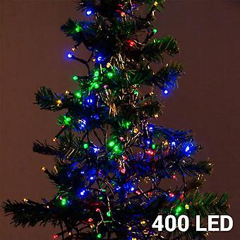 Bigbuy Christmas Lights 400 Led Multicolor (Decoration , Christmas , Christmas lights)