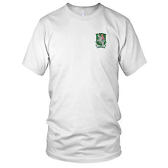 US Army - 42nd Tank Battalion Embroidered Patch - Mens T Shirt