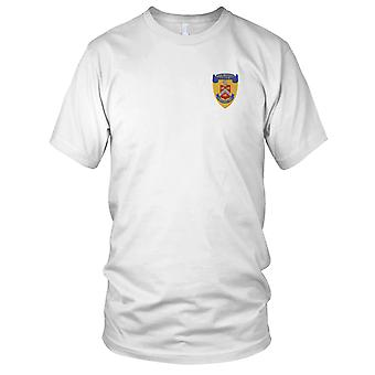 US Navy USS Bradley FF-1041 Frigate Ship Embroidered Patch - Mens T Shirt