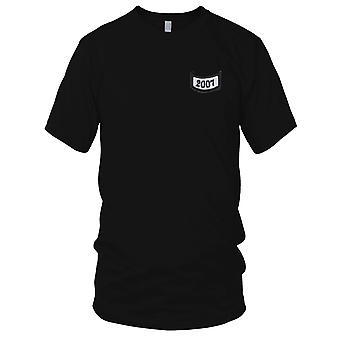 2007 rocker onder tabblad geborduurd Patch - Kids T Shirt