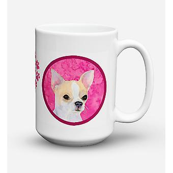 Chihuahua  Dishwasher Safe Microwavable Ceramic Coffee Mug 15 ounce SS4749
