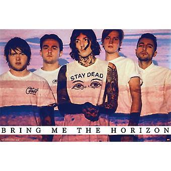Bringe mig i horisonten - horisonten plakat plakat Print