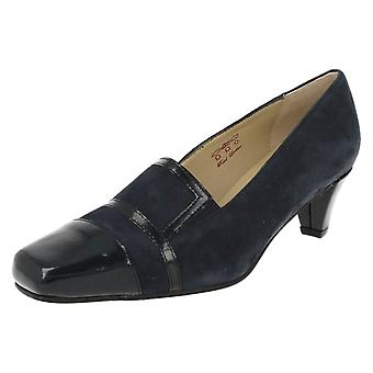Ladies Equity Wide Fitting Trouser Shoes Alexis