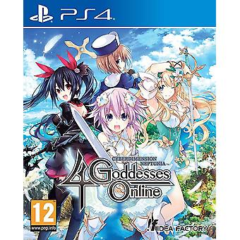 Cyberdimension Neptunia 4 gudinder Online PS4 spil