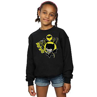 DC Comics Girls Chibi Batman schwingt Sweatshirt