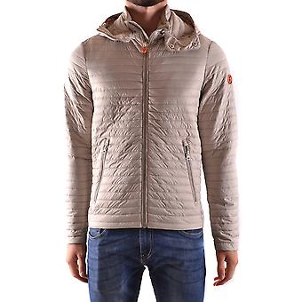 Save the duck men's MCBI269047O grey polyester Quilted Jacket