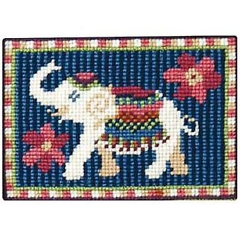 Baby Elephant Needlepoint Kit
