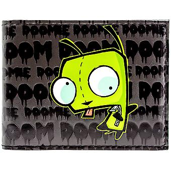 Nickelodeon Invader Zim Impending Doom ID Card Bi-Fold Wallet