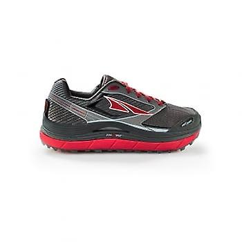 Olympus 2.5 Mens Zero Drop Road Running Shoes Black/Red