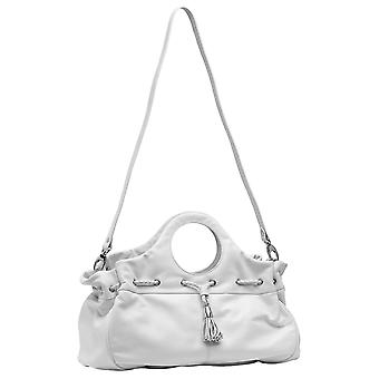 Burgmeister ladies bag T216-116 leather white