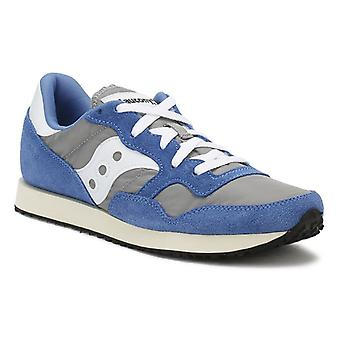Saucony Mens Grey / Blue DXN formatori dell'annata