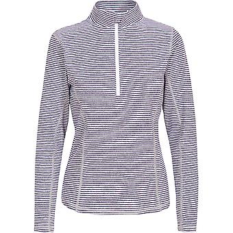 Trespass Womens/Ladies Overjoy Half Zip Long Sleeved Wicking Top