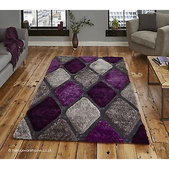 Melio grå lila matta