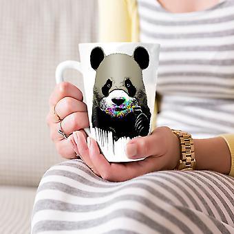 Słodkie Panda słodycze zwierząt nowy kubek kawy Latte ceramiczna Biała herbata 17 oz   Wellcoda