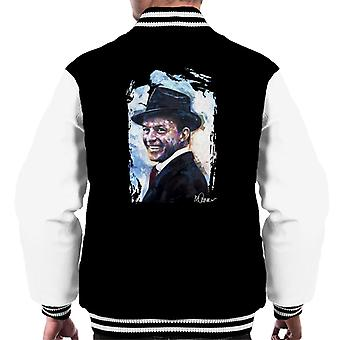 Sidney Maurer Original Portrait Of Frank Sinatra Hat Men's Varsity Jacket