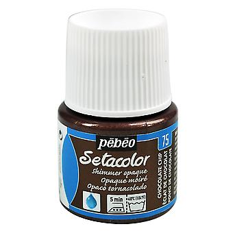Pebeo Setacolor Opaque Shimmer Fabric Paint 45ml