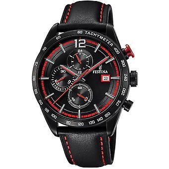 Festina mens watch chronograph sport F20344/5