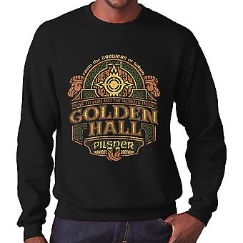 Lord Of The Rings Rohan Golden Hall Pilsner Men's Sweatshirt