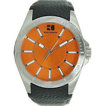 Hugo Boss Orange reloj de cuero 1512870