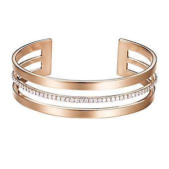 ESPRIT ladies bracelet Bangle JW52896 stainless steel Rosé ESBA01391C580