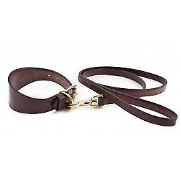 English Bridle Collar & Lead-brun