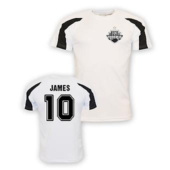 James Rodriguez Real Madrid Sport Training Jersey (weiß) - Kinder