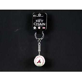 Atlanta Braves MLB Baseball Key Chain