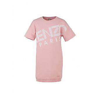 Kenzo Kids Short Sleeved Logo Dress