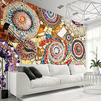 Papel de parede - mosaico marroquino