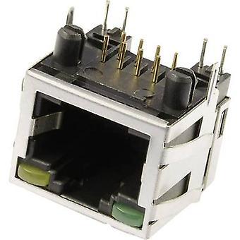Modular mounted socket Socket, horizontal mount M8L1G3 Metal econ connect M8L1G3 1 pc(s)