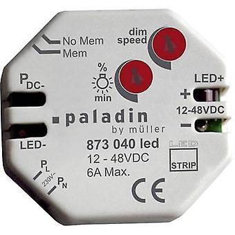 Müller 23323 empotrar conveniente regulador para bombillas de luz: LED franja gris