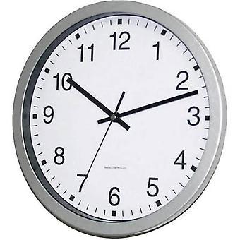 EUROTIME 56831-07 Radio Wall clock 30 cm x 4.3 cm Silver