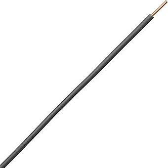 Strand H07V-U 1 x 1.50 mm² Black Kopp 154625009