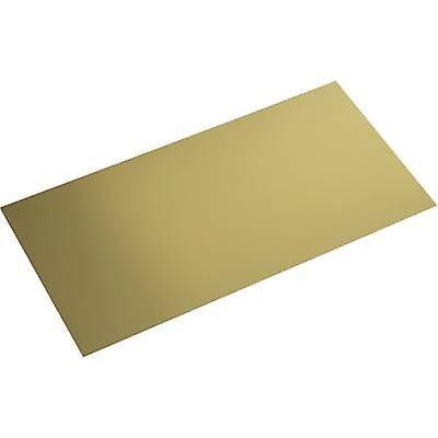真鍮板金 (L x W) 400 mm × 200 mm 0.4 mm 1 pc(s)