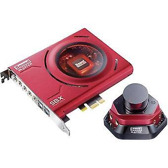 5.1 tarjeta de sonido de, interno sonido Blaster SoundBlaster ZX PCIe x1 salida Digital, auriculares externos, Volumen externo