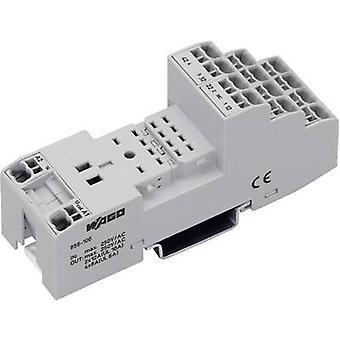 Relay socket 1 pc(s) WAGO 858-100 (L x W x H) 97 x 31 x 39 mm