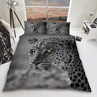 Leopard Big Cat Duvet Cover Bedding Set