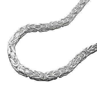 Kette ca.2mm Königskette vierkant glänzend Silber 925 50cm