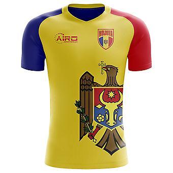 2018-2019 Moldavië Home Concept voetbalshirt (kinderen)
