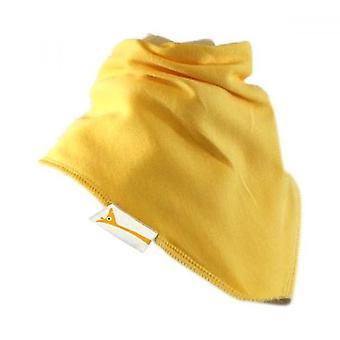 Yellow Plain Summer Cotton Bib