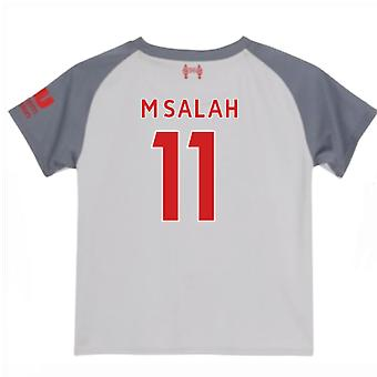 2018-2019 Liverpool Third Little Boys Mini Kit (M Salah 11)