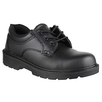 Amblers Mens FS38C Leather Composite Safety Oxford Shoe S1-P-SRA